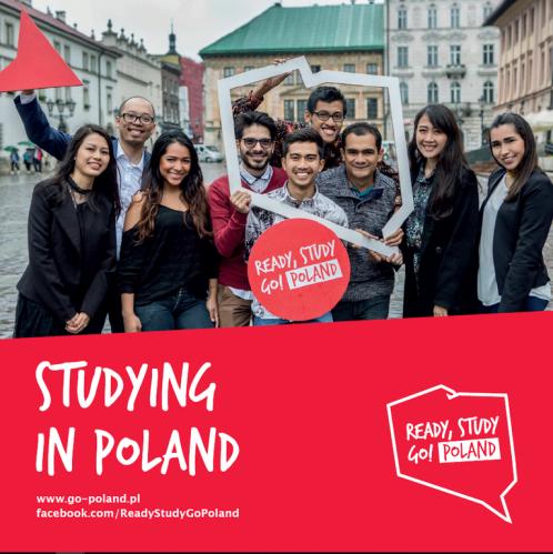 Okladka Studying in Poland